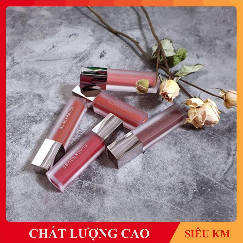 Son Black Rouge Ver 4 - Son Chính Hãng Hàn Quốc 100% - Son Kem Black Rouge Siêu Lì, Lâu Trôi. Check Được Mã Vạch