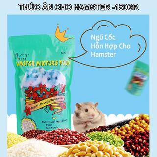 Thức ăn ngũ cốc hỗn hợp cho hamster 150gr rau củ quả tăng cường dinh dưỡng tự nhiên-150gr 1