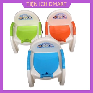 bô cho bé có nắp đậy , bô vệ sinh cho bé nhựa Việt Nhật nhiều màu thumbnail