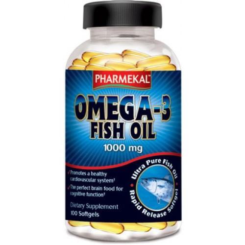 Viên Uống Dầu Cá PHARMEKAL Omega 3 1000mg 100 Viên