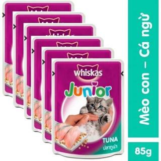 Thức ăn pate whiskas 80g cho mèo hàng nhập khẩu Thái Lan thumbnail