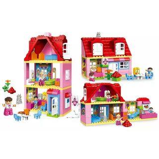 Gorock 1042 78pcs Ngôi nhà của bé tương thích lego duplo