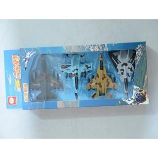 Hộp đồ chơi máy bay sắt