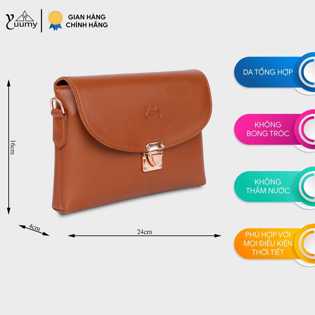 Túi đeo chéo nữ thời trang đa năng YUUMY YN15 nhiều màu