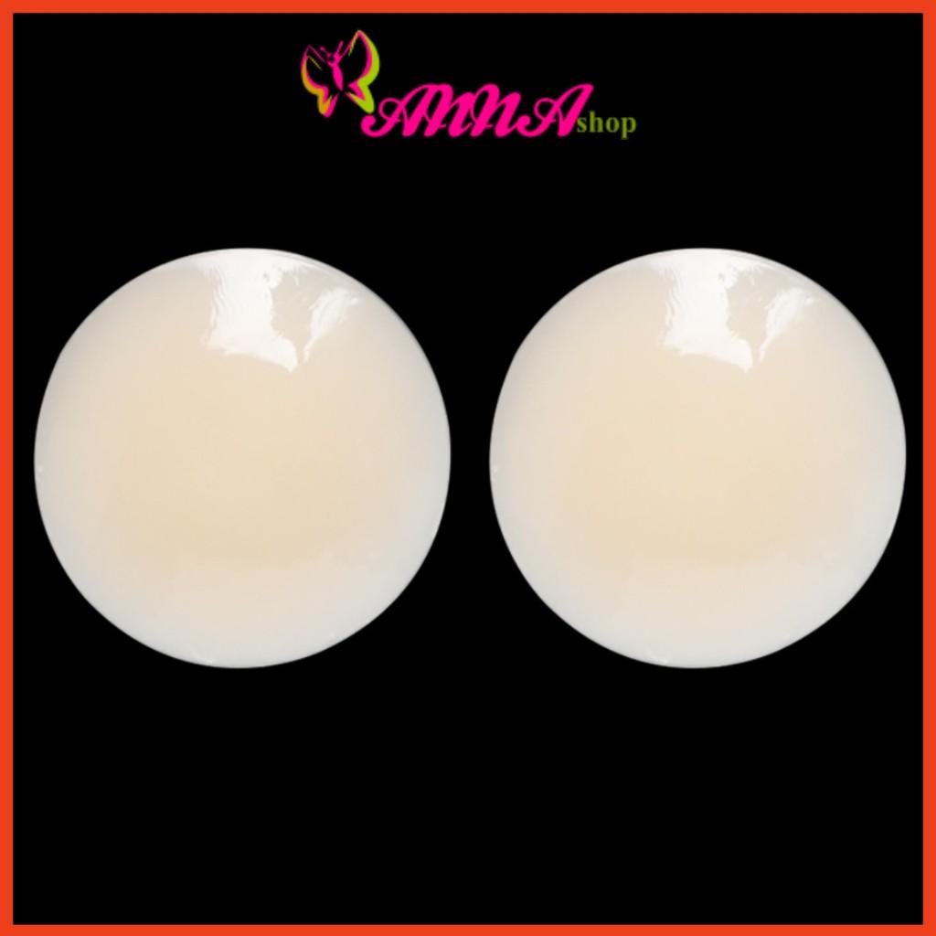 6 Miếng dán ngực, dán ti silicon tàng hình cao cấp, dùng nhiều lần, nhỏ gọn, tiện lợi, thay áo...