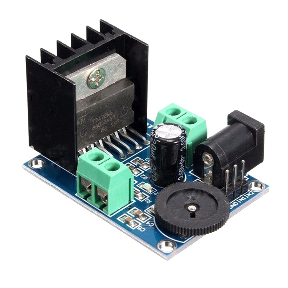 System DIY Component Module Board Stereo Double Channel Audio Power Amplifier Sound 15W+15W