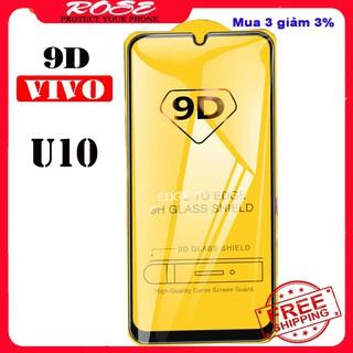 Kính cường lực ViVo U10-Full màn hình-Độ cứng 9D [Sale&freeship50k] thumbnail