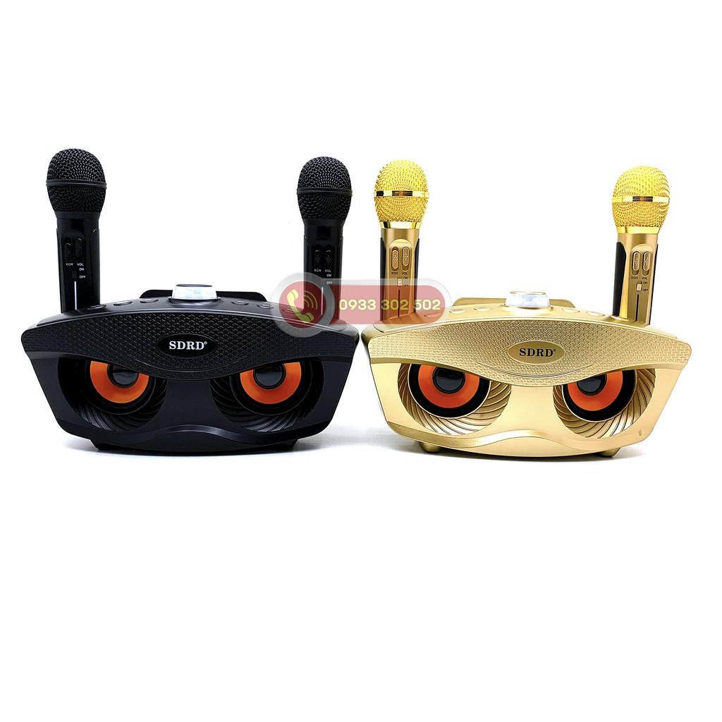 [Loại 1] Loa Karaoke Bluetooth SD-306, Kèm 2 mirco không dây