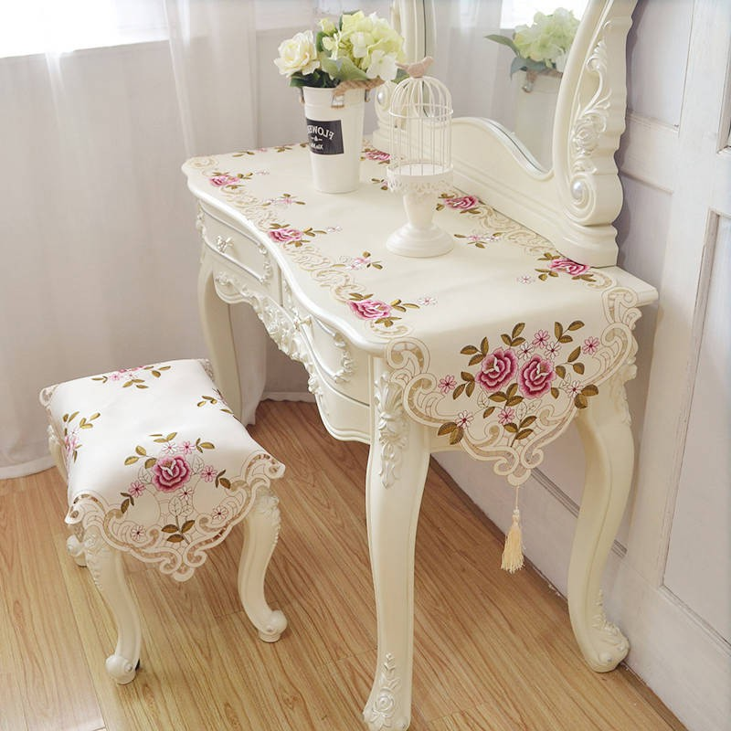 Towel Fabric Bedroom Dressing Table