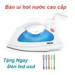 Bàn ủi hơi nước Nova JK 501 đa năng (Trắng xanh)+ Tặng đèn led siêu sáng - 3155777 , 742440208 , 322_742440208 , 155000 , Ban-ui-hoi-nuoc-Nova-JK-501-da-nang-Trang-xanh-Tang-den-led-sieu-sang-322_742440208 , shopee.vn , Bàn ủi hơi nước Nova JK 501 đa năng (Trắng xanh)+ Tặng đèn led siêu sáng