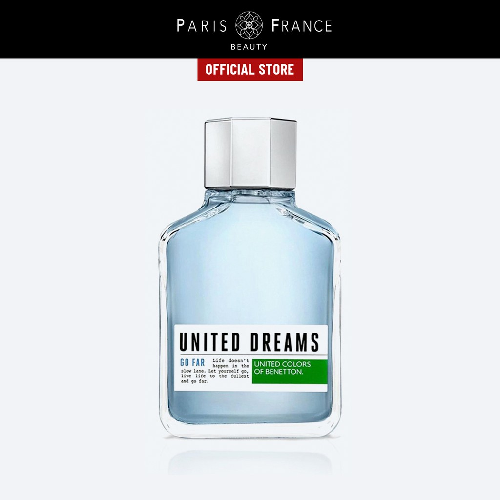 Paris France Beauty - Nước Hoa Nam United Color Of Benetton United Dreams Go Far 100ml