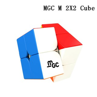 YJ MGC 2×2 Magnetic Speed Cube Professional Puzzle Cube Twist Educational Toys