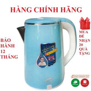 Yêu ThíchẤm bình đun nước sôi, ấm nước trà siêu tốc 2 lớp 2.5l thái lan hàng chính hãng jiplai