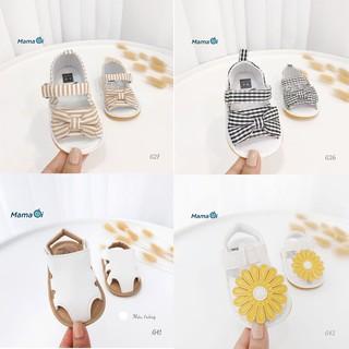 Giày tập đi cho bé nhiều kiểu loại - mẫu giày tập đi form lớn của Mama ơi