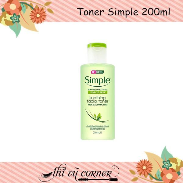 Toner Simple ( mẫu mới)