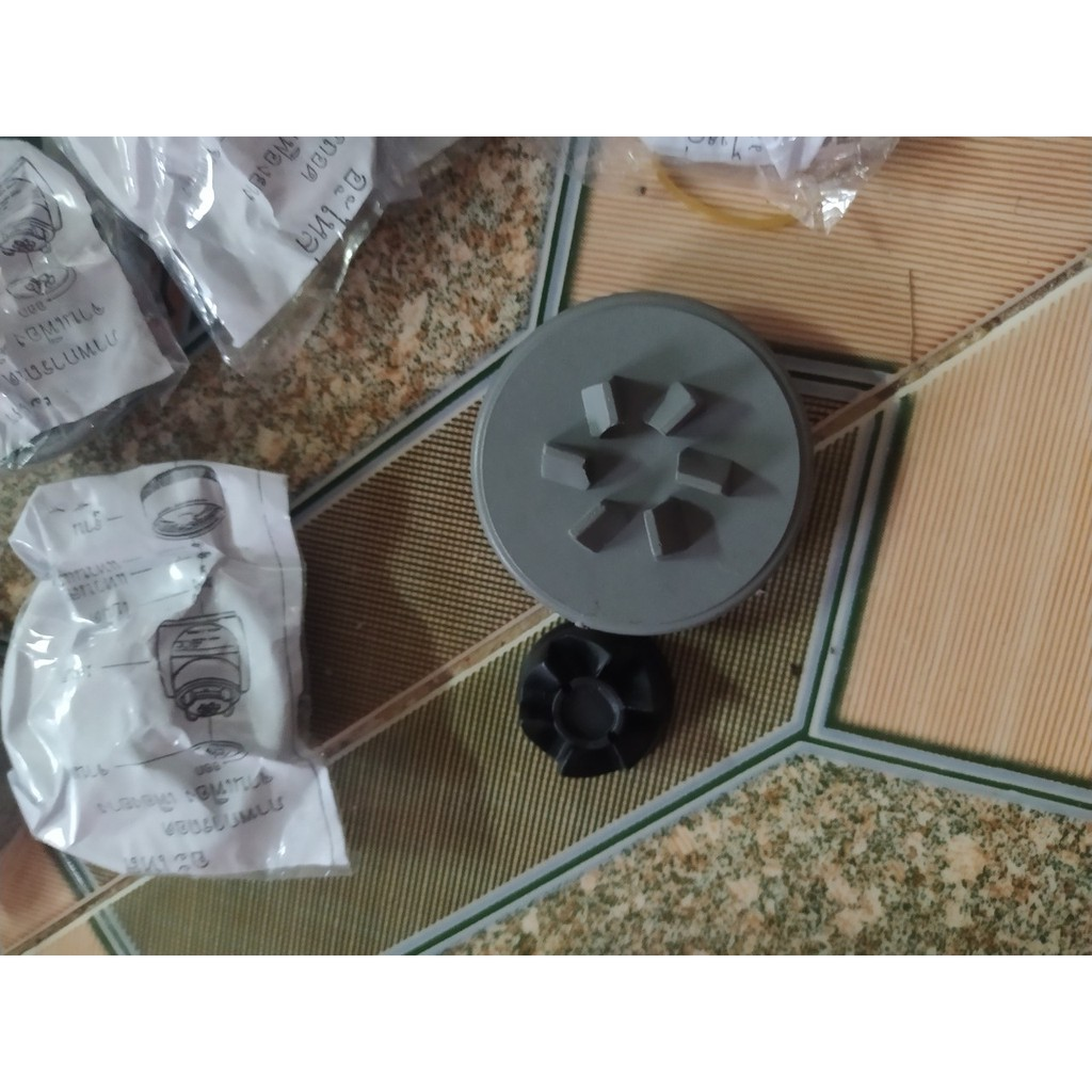 Bộ vấu truyền động - bộ nhông - bộ bánh răng 6 chấu - Phụ kiện máy xay ép giá rẻ -ph. ukienmayxayhn1