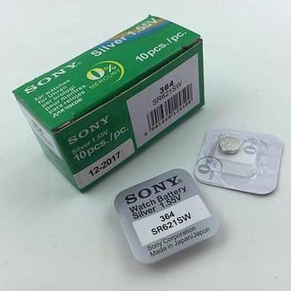 [G01] Pin đồng hồ Sony 364 SR621SW dành cho đồng hồ kim 3 kim (Loại tốt-Giá 1 viên) thumbnail