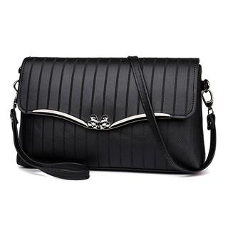 Túi đeo vai kết hợp ví cầm tay HARAS VRS005 màu đen thumbnail