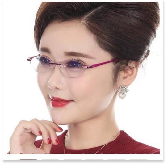 Kính lão thị sẵn độ kính viễn thị trung niên nữ giới qua tặng cho mẹ bà cực sang cực...