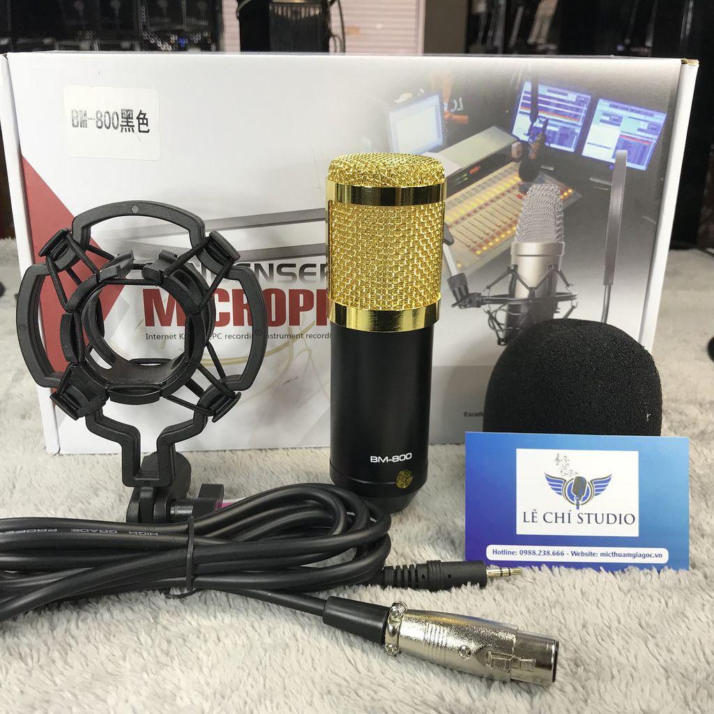 Micro Thu Âm BM 800 - sự lựa chọn hoàn hảo