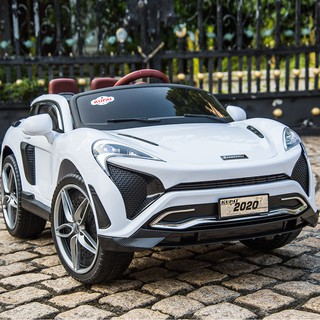 Xe ô tô điện trẻ em cao cấp KUPAI-2020 (4 Động Cơ Lớn + Bình Ắc Quy 12V7A) – Màu Trắng