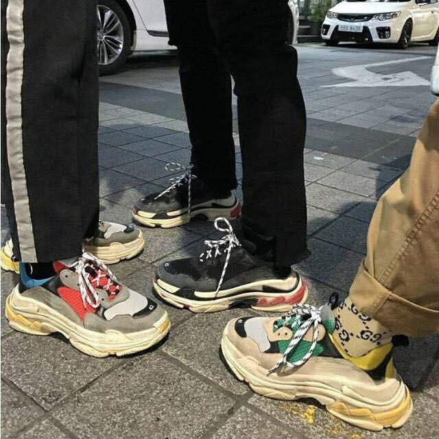 Giày Thể Thao Triple S Nam Nữ order