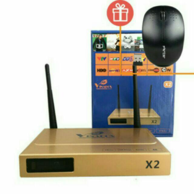 Android Tivi box x2 4k tặng chuột không dây zin