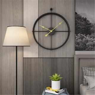 Đồng hồ kim loại treo tường trang trí phong cách vintage