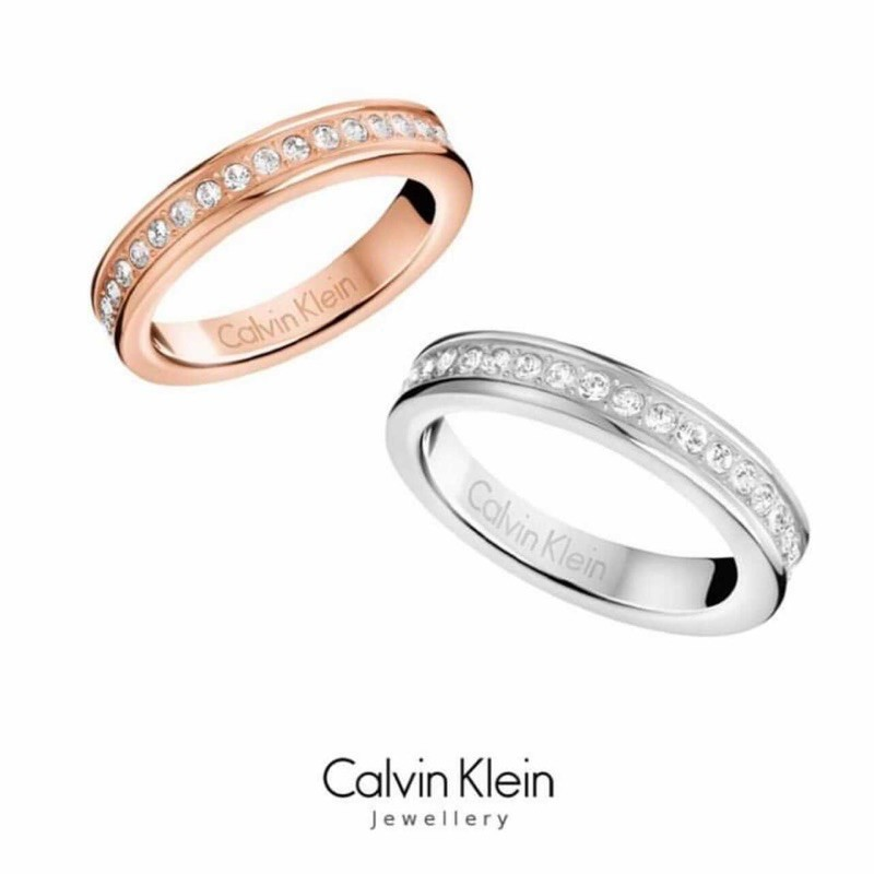 Nhẫn Calvin Klein Chính Hãng ( có ảnh thật )