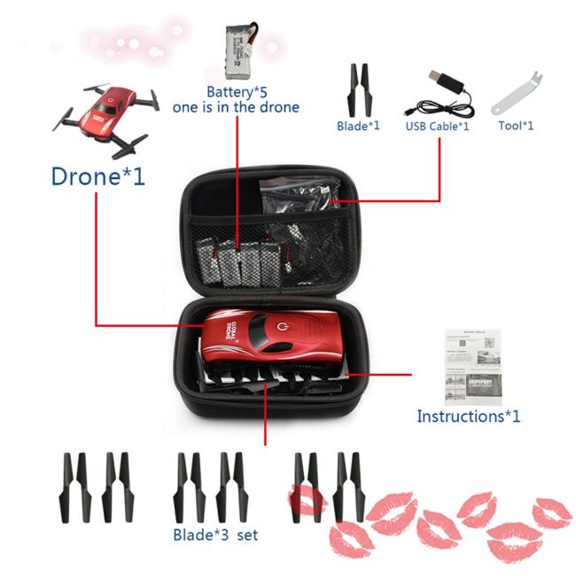 Hộp Đựng Drone E58 / Jy018 / Jy019 / Gw58 / X6 / E010 / E010S / E013 / E50