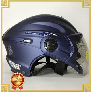 Yêu ThíchNón bảo hiểm nửa đầu có kính GRS 1/2 A737K - Đủ Màu - Bảo Hành 12 tháng chính hãng phân phối