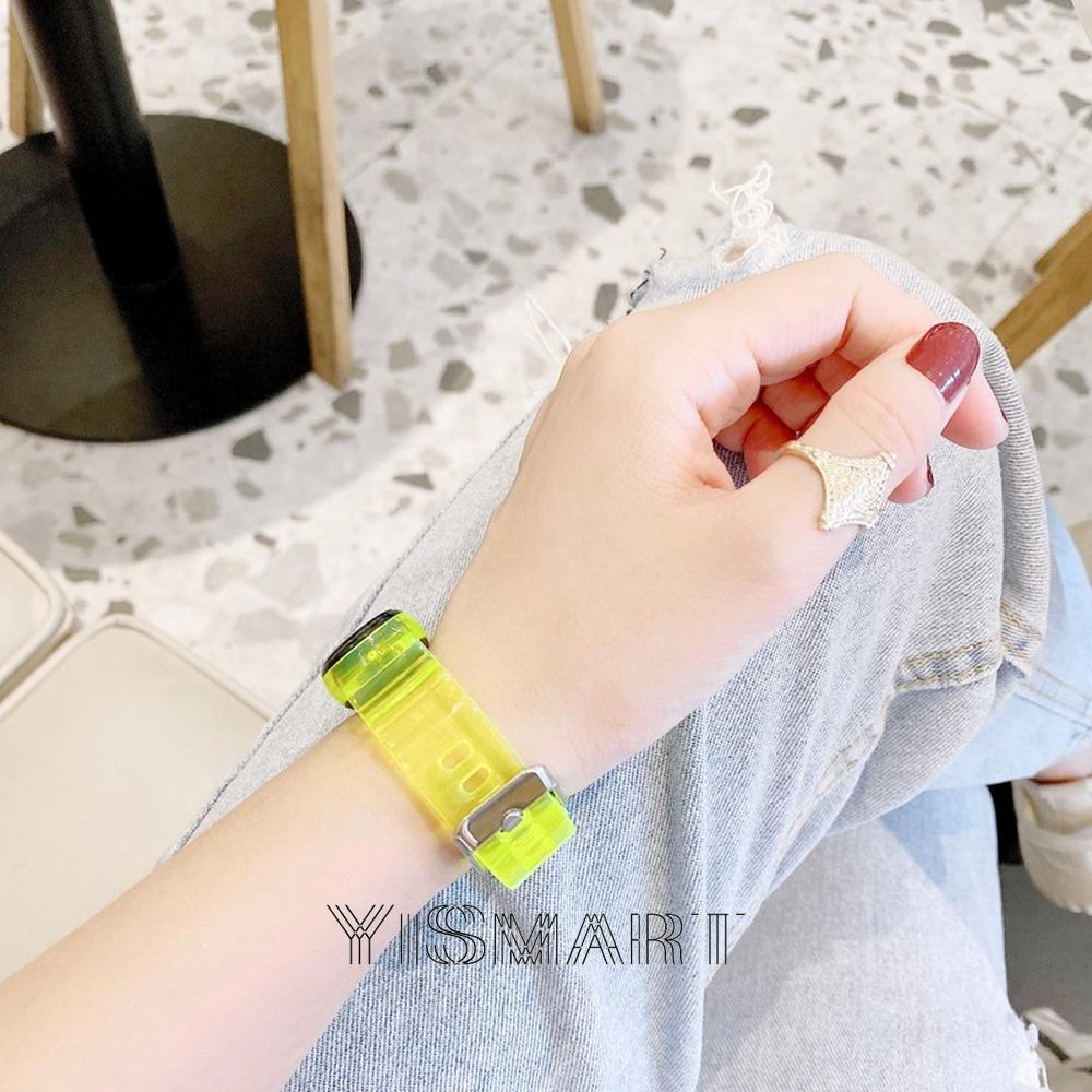 Dây Đeo Thay Thế Chất Liệu Silicon Màu Trơn Cho Xiaomi Mi Band 3 4 Nfc Miband 4