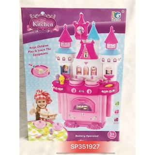 Kệ bếp lâu đài cho bé