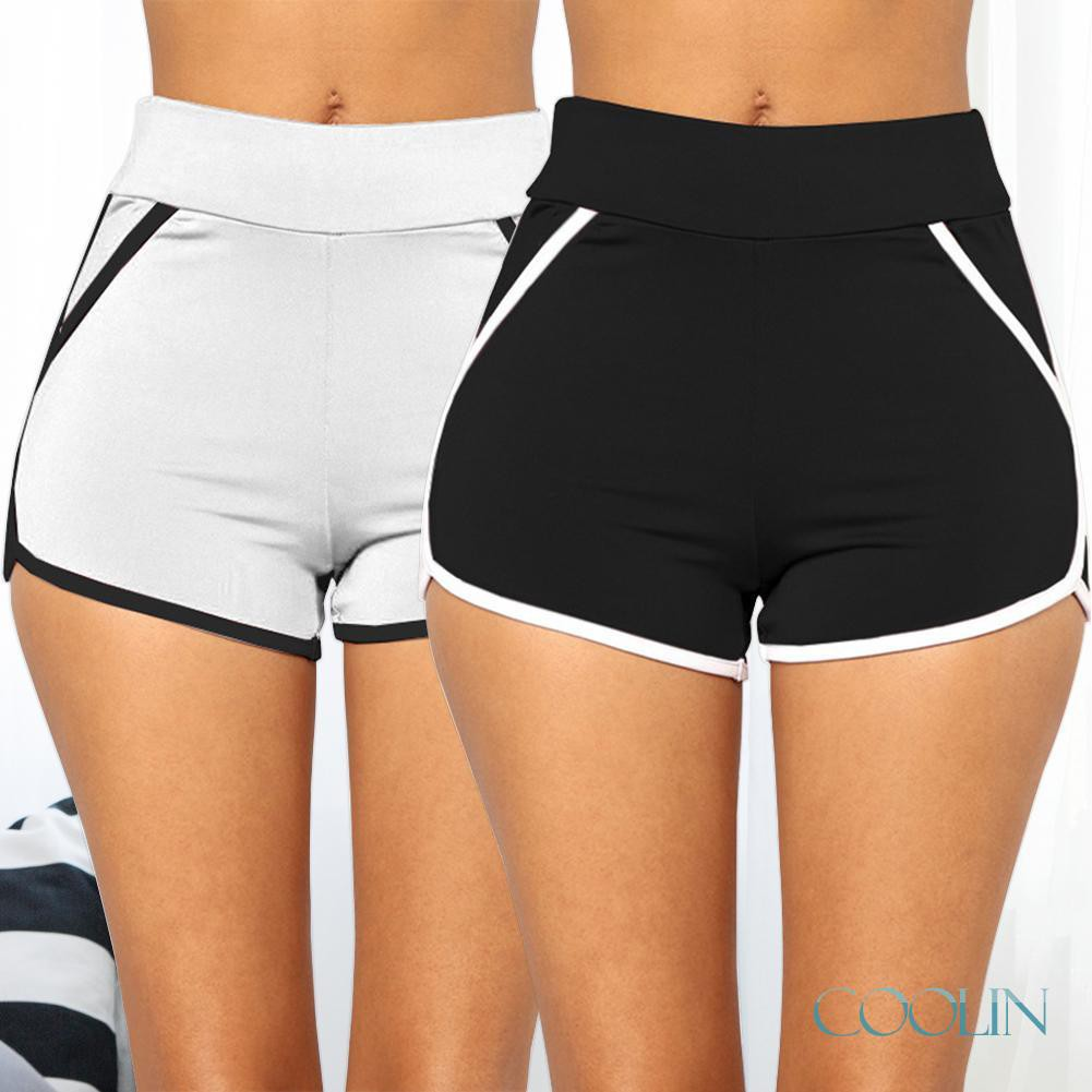 §Fitness Sexy Beach Summer Elastic Shorts Women Casual Home Soft Sportwearღ