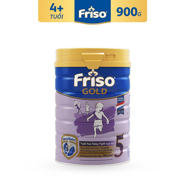 [Nhập MKBMFCV35 giảm 35K đơn 599K] Sữa bột FRISO GOLD 5 900G