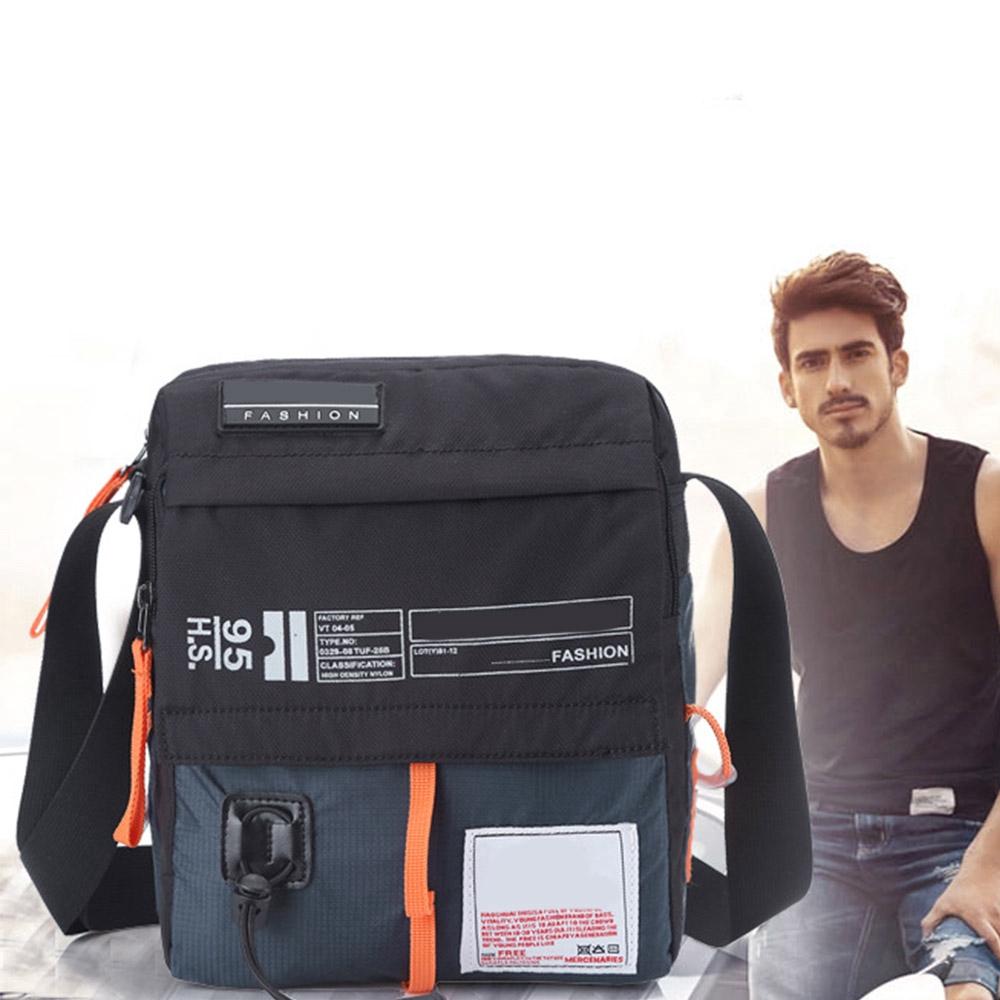 Men Nylon Messenger Bag Shoulder Bags Multifunction Bicycle Travel Handbag