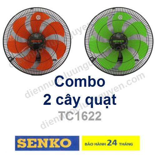 COMBO 2 Quạt treo 2 dây SENKO TC1622