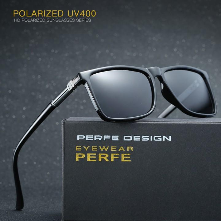 Kính mát nam, mắt kính phân cực polarized chống chói, chống tia UV - PERFE- MK1812