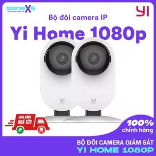 [Bản Quốc Tế]Bộ 2 Camera IP giám sát Yi Home Camera 1080p tích hợp công nghệ AI+ phát hiện con người thumbnail