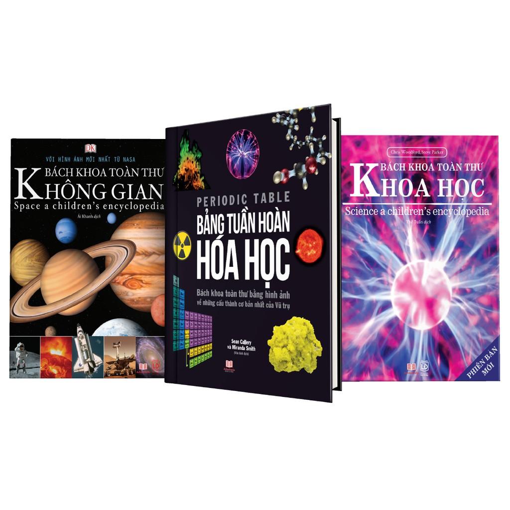 Sách Bách Khoa Toàn Thư Khoa Học, Không Gian và Bảng Tuần Hoàn Hóa học