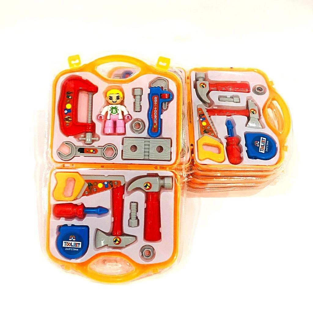 Bộ đồ chơi dụng cụ sửa chữa, dụng cụ kĩ thuật đa năng cho trẻ chơi trò chơi nhập vai