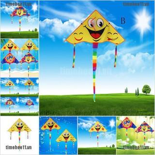 Huge 80cm Smile Face Single Line Novelty Expression Kites Chil