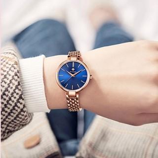 Đồng hồ nữ Woor hàng chính hãng dây thép ko gỉ thumbnail
