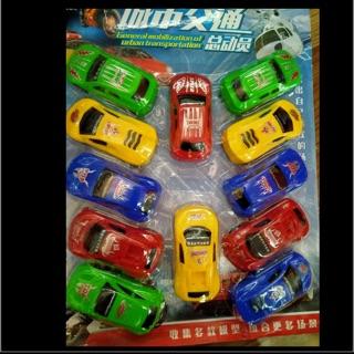 Vỉ 12 xe ô tô chạ đà