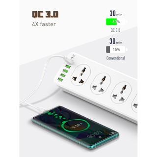 Ổ Cắm Ldnio Sc10610 10 Lỗ 4 Usb Id 1 Qc3.0 1 Type C Pd