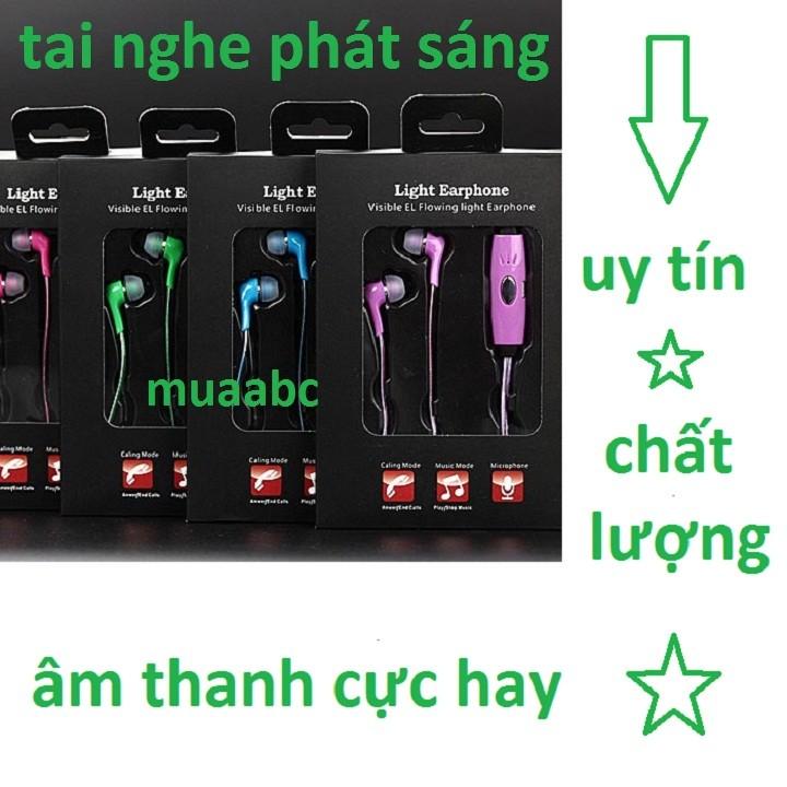 Tai Nghe Phát Sáng Cao Cấp Light Earphone
