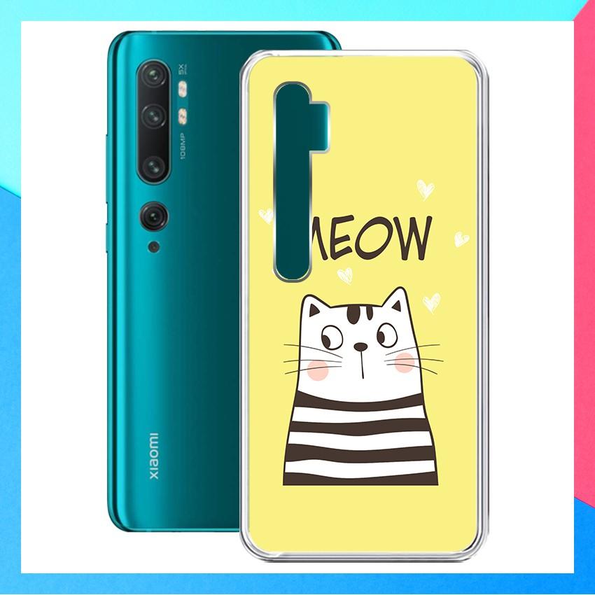 [FREESHIP ĐƠN 50K] Ốp lưng Xiaomi Mi Note 10 hàng loại tốt - 01262 Silicone Dẻo