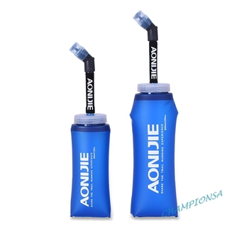 AONIJIE Gym Sports Foldable Soft Flask Kettle Outdoor Cycling Water Bottle COD