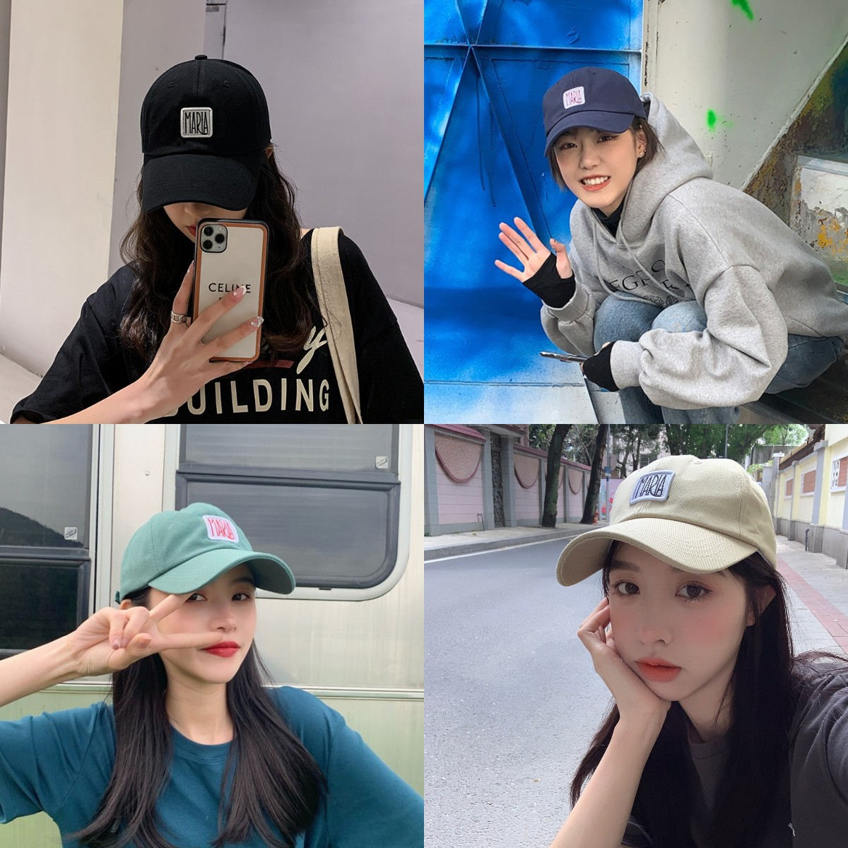Maria's Cap Men New Ulzzang Trendy Baseball Hat