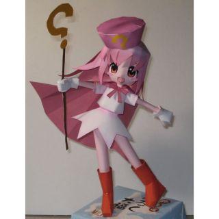 Mô hình giấy anime girl Hatena Hideya